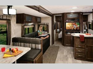 Inside - 2012 Apex Ultra-Lite 258 RKS Travel Trailer