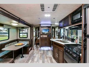 Inside - 2020 Stryker STF-3713 Toy Hauler Fifth Wheel
