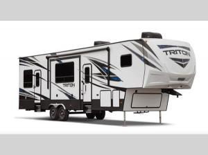 Outside - 2020 Triton 3531 Toy Hauler Fifth Wheel