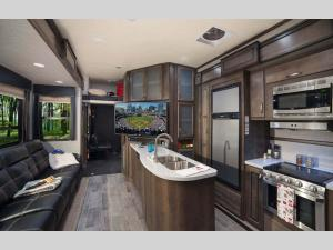 Inside - 2020 Triton 3531 Toy Hauler Fifth Wheel