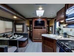 Inside - 2015 Aerolite 205KB Travel Trailer