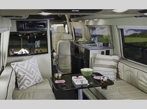 Inside - 2020 Passage MD4 Lounge Motor Home Class B - Diesel