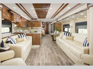 Inside - 2015 King Aire 4599 Motor Home Class A - Diesel