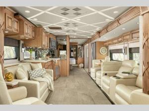 Inside - 2022 Mountain Aire 4535 Motor Home Class A - Diesel