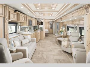 Inside - 2019 Mountain Aire 4550 Motor Home Class A - Diesel