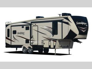 Outside - 2020 Sandpiper HT 2850RL Fifth Wheel