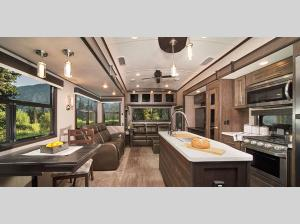 Inside - 2020 North Point 383FKWS Fifth Wheel