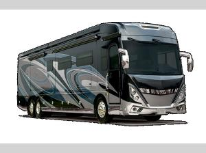 Outside - 2021 American Tradition 37S Motor Home Class A - Diesel