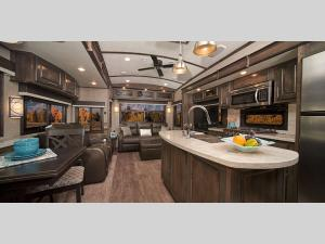 Inside - 2020 Pinnacle 36SSWS Fifth Wheel