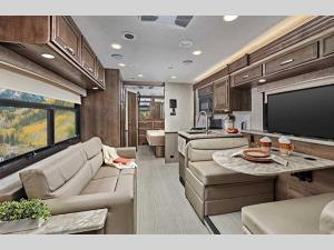 Inside - 2021 Vision 29F Motor Home Class A