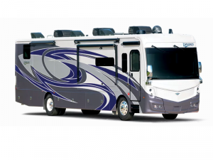 Outside - 2022 Discovery 38W Motor Home Class A - Diesel
