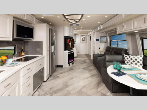 Inside - 2022 Discovery 38W Motor Home Class A - Diesel