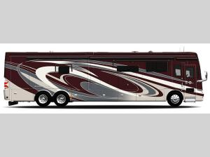 Outside - 2014 Allegro Bus 40 QXP Motor Home Class A - Diesel