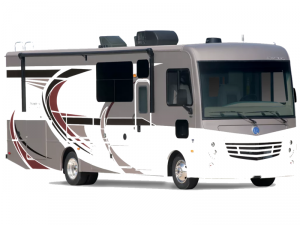 Outside - 2022 Admiral 28A Motor Home Class A