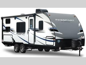 Outside - 2019 Passport 3350BH Grand Touring Travel Trailer