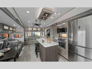 Inside - 2018 Chaparral 371MBRB Fifth Wheel