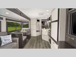 Inside - 2018 Jay Feather 23RL Travel Trailer