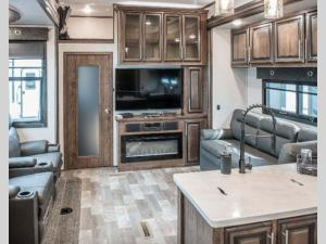 Inside - 2020 Venom V4114TK Toy Hauler Fifth Wheel