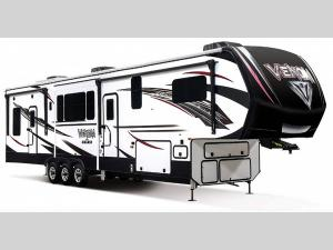 Outside - 2020 Venom V4114TK Toy Hauler Fifth Wheel