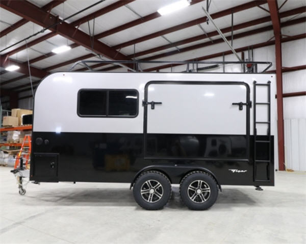 Trailers For Less >> inTech RV Flyer Toy Hauler Travel Trailer Reviews ...