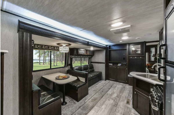 Small Truck Campers >> Heartland Pioneer Travel Trailer Reviews | Floorplans ...