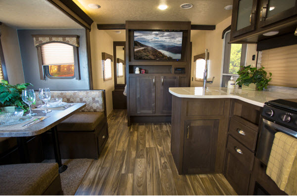 Forest River RV EVO Travel Trailer Reviews | Floorplans | Features