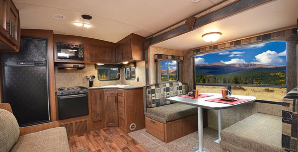 outdoors rv black rock back country series travel trailer