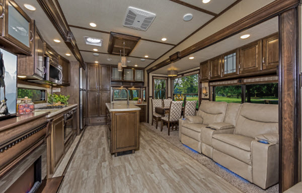 Rv And Campers For Sale >> Grand Design Solitude Fifth Wheel Reviews | Floorplans | Features | Available Models - RVingPlanet