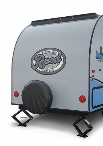 R Pod Reviews >> Forest River RV R Pod Travel Trailer Reviews | Floorplans | Features | Available Models ...
