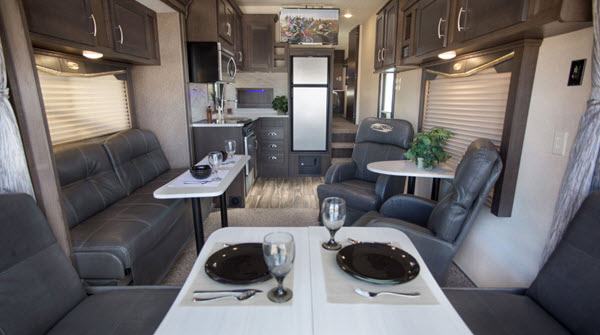 New Forest River Rv Stealth Sa3320g Toy Hauler Fifth Wheel