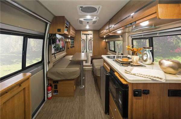 winnebago travato motor home class b reviews floorplans. Black Bedroom Furniture Sets. Home Design Ideas