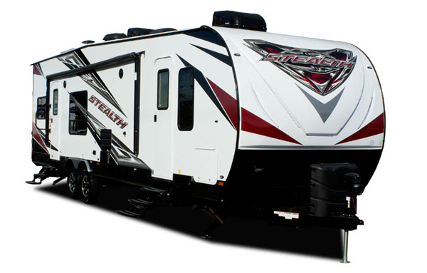 Forest River Rv Stealth Toy Hauler Travel Trailer