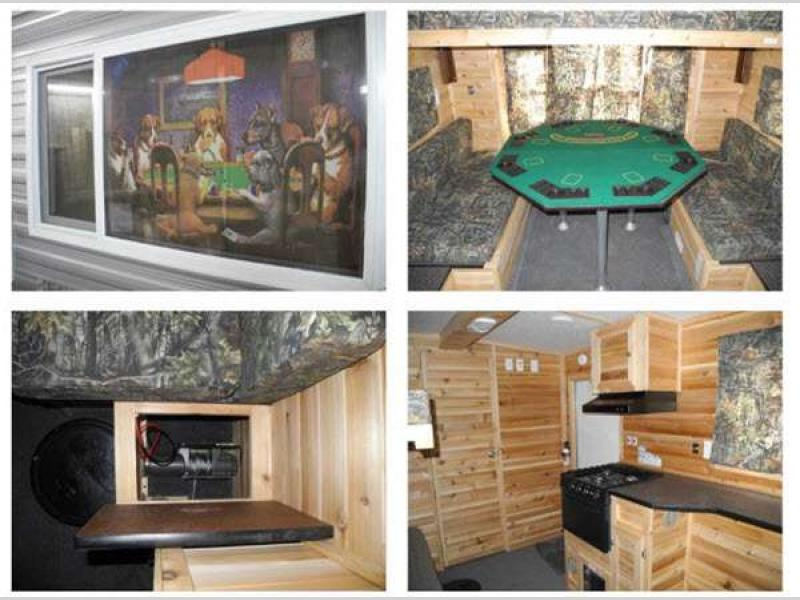 Ice castle fish houses fish house rv sales 57 floorplans for Ice castle fish houses