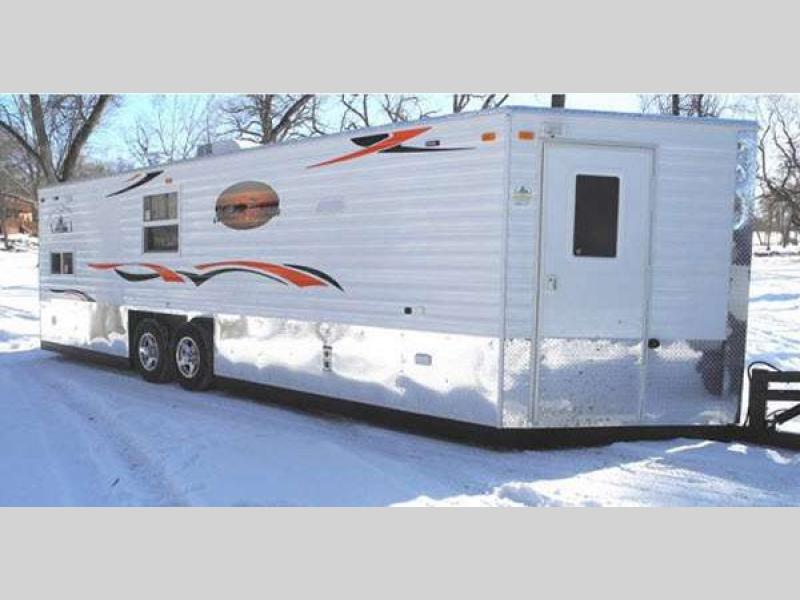 Ice castle fish houses fish house rv sales 57 floorplans for Fish house rv