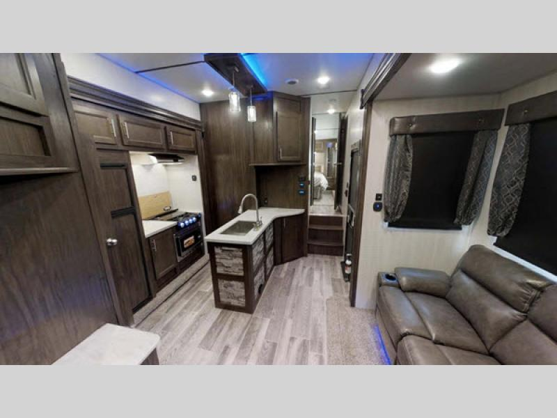 Forest River RV Cherokee Wolf Pack Toy Hauler Fifth Wheel