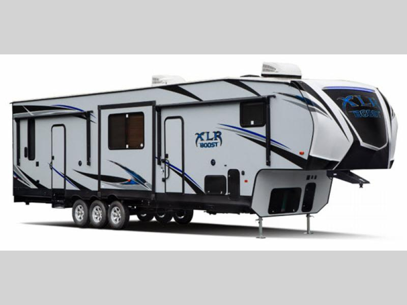 XLR Boost Toy Hauler Fifth Wheel | RV Sales | 3 Floorplans