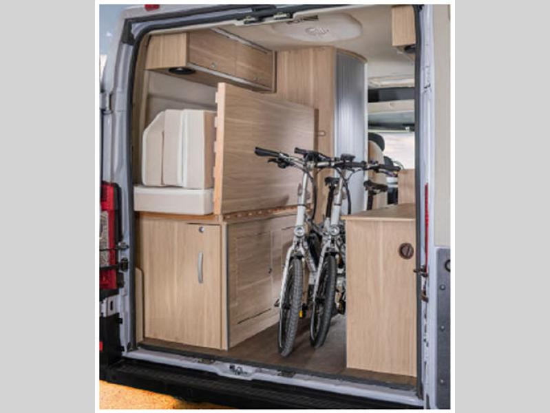 Image result for hymer aktiv bedroom storage