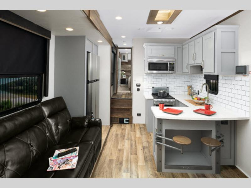 Fuzion Toy Hauler Fifth Wheel | RV Sales | 8 Floorplans