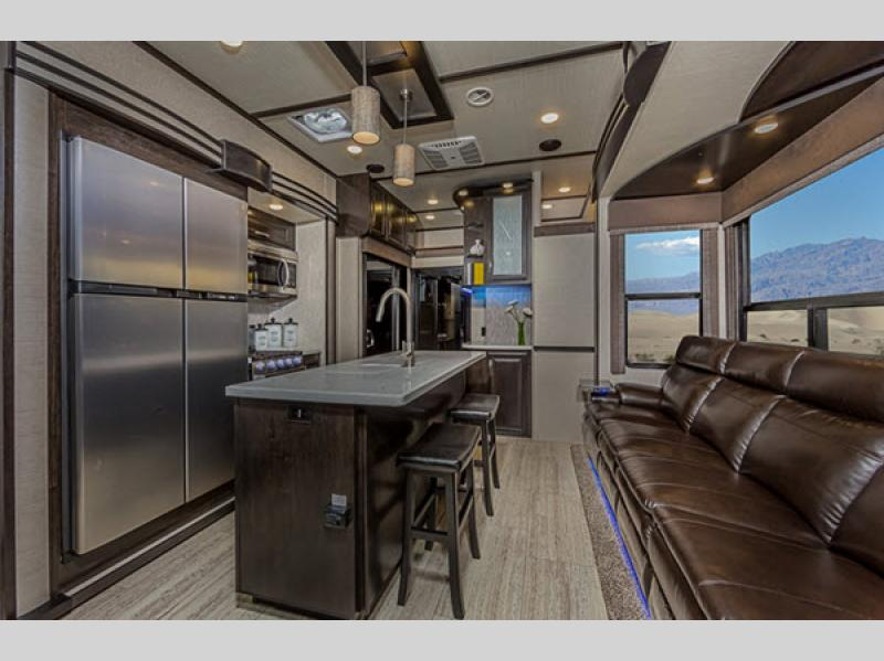 Momentum Toy Hauler Fifth Wheel Rv Sales 4 Floorplans
