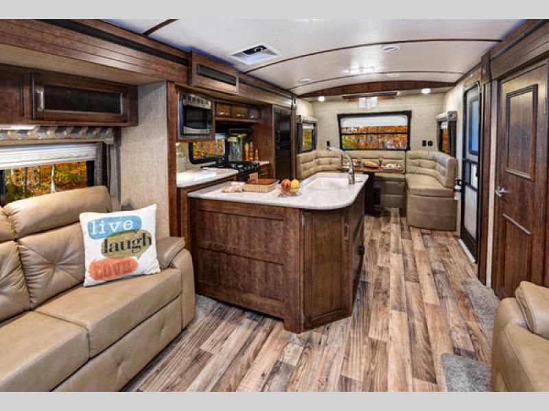 Light Travel Trailer With Outdoor Kitchen