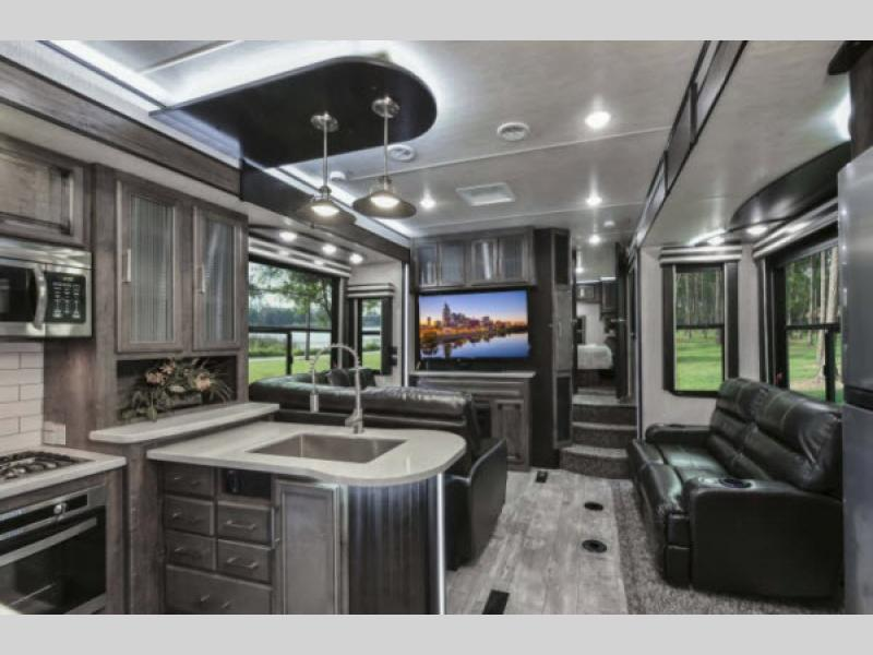 Toy Hauler With Separate Living Room