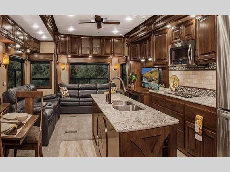 Elite Suites Fifth Wheel Rv Sales 1 Floorplan
