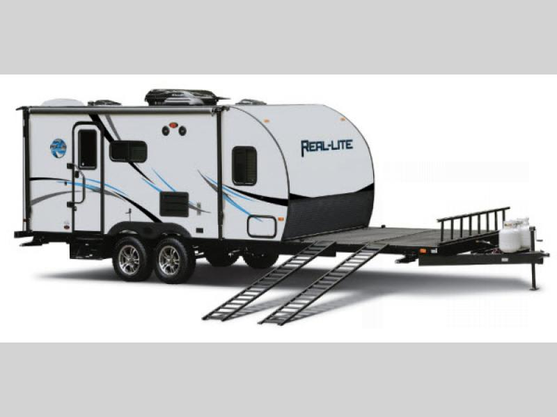 Expandable Travel Trailers >> Real-Lite Mini Travel Trailer | RV Sales | 9 Floorplans