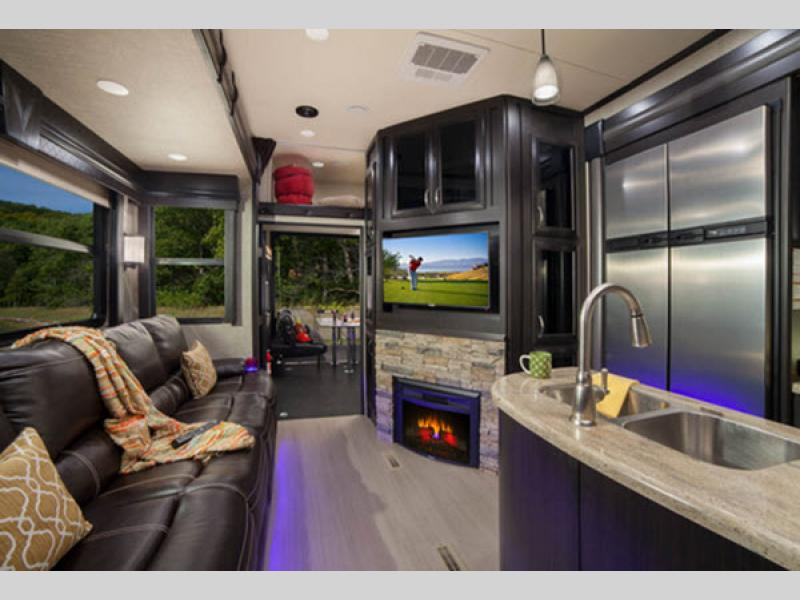 Voltage Toy Hauler Fifth Wheel Rv Sales 13 Floorplans