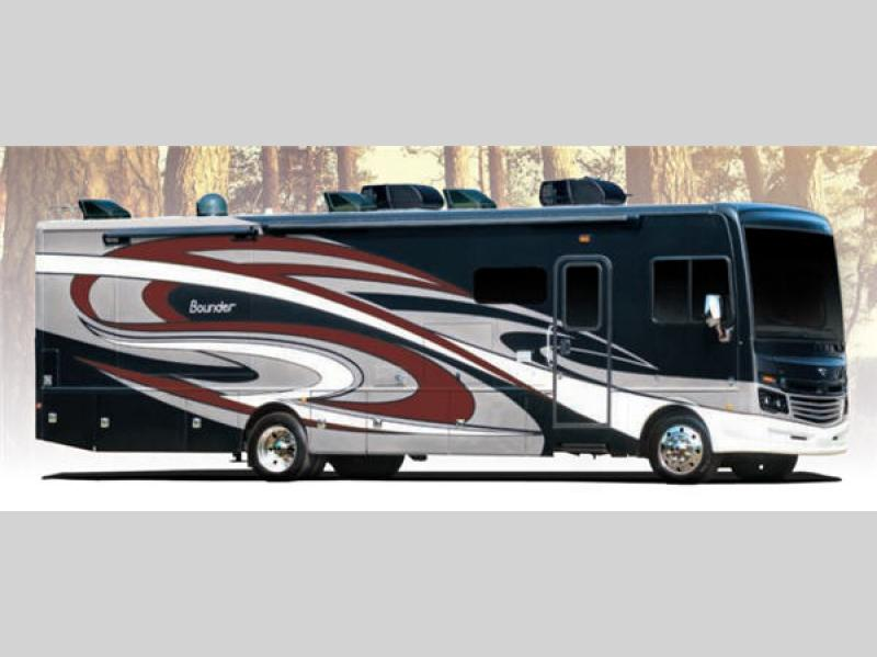 Bounder motor home class a rv sales 9 floorplans for Motor home class a