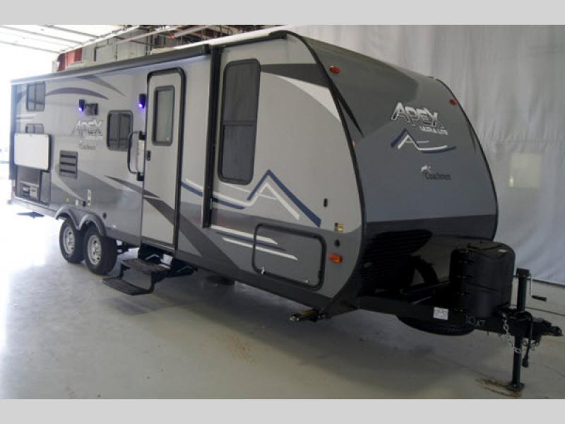 Apex Ultra Lite Travel Trailer Rv Sales 24 Floorplans