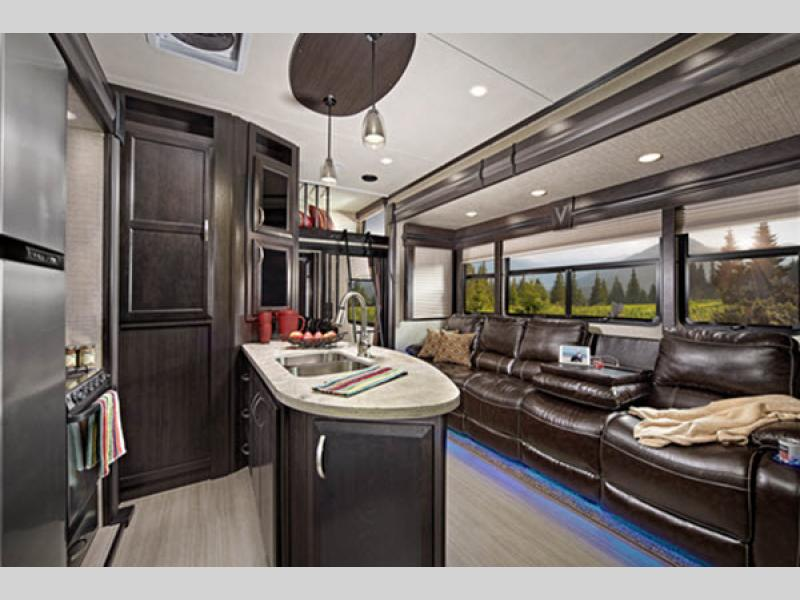 Voltage Toy Hauler Fifth Wheel | RV Sales | 10 Floorplans