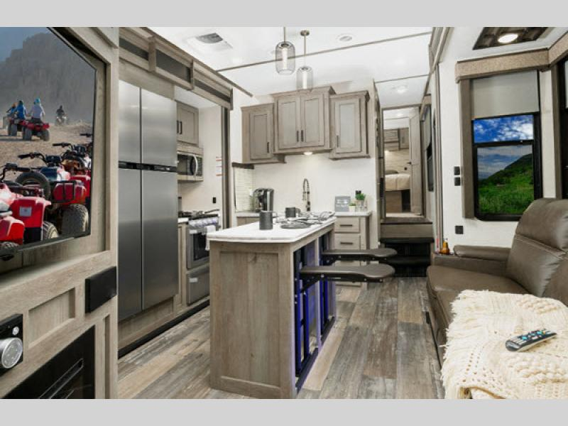 Raptor Toy Hauler Fifth Wheel | RV Sales | 15 Floorplans