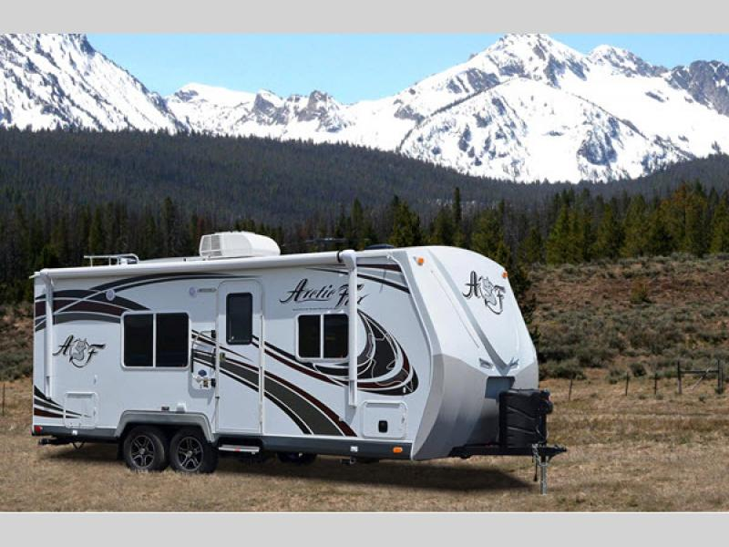arctic fox classic travel trailer rv sales 4 floorplans