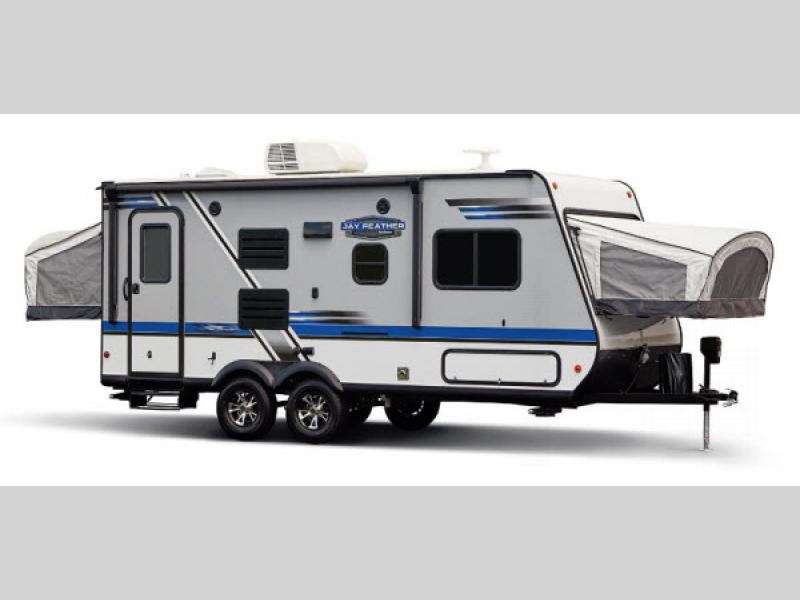 Jay Feather 7 Expandable | RV Sales | 2 Floorplans